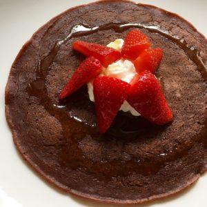 Pancakes vegan al cacao