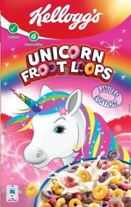 Kellogg's Unicorn Froot Loops Limited Edition